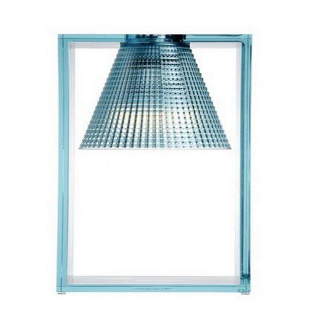 LightAir Lampada da Tavolo Azzurro