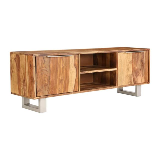 Massello di Sheesham Mobile TV con Finitura Miele 118x30x40cm Credenza