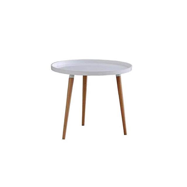 MeillAcc Low Coffee Table for Living Room Tavolini da caffè in Legno con incastotura Tavolino Rotondo Moderno Tavolino da Salotto con Tavolo da Sck Tavolo da Pranzo per casa e Ufficio