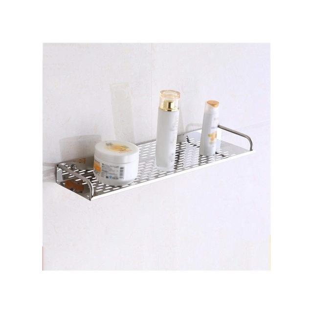 Mensola a Muro in Metallo cremagliera da Bagno 1204 Size 40 * 4 * 12cm