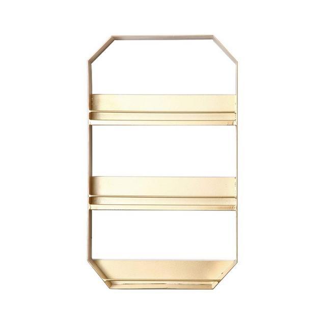 Mensola per riporre i Cosmetici da Parete in Metallo 1204 Size 30 * 8 * 50cm