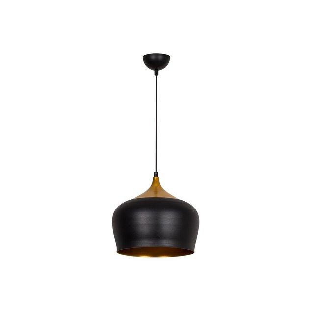 Modern Pendant Lampada a Sospensione Metallo NeroOro 34 x 28 cm 62 unità