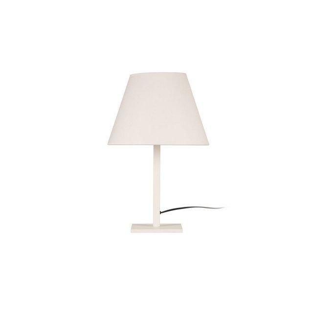 Modern Table Lampada da Tavolo Metallo Bianco 47 cm Paralume 30 x 23 cm Cavo 180 cm 6 unità