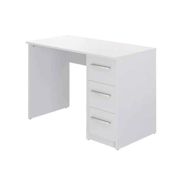 Movian scrivania con 3 cassetti in stile moderno modello Idro