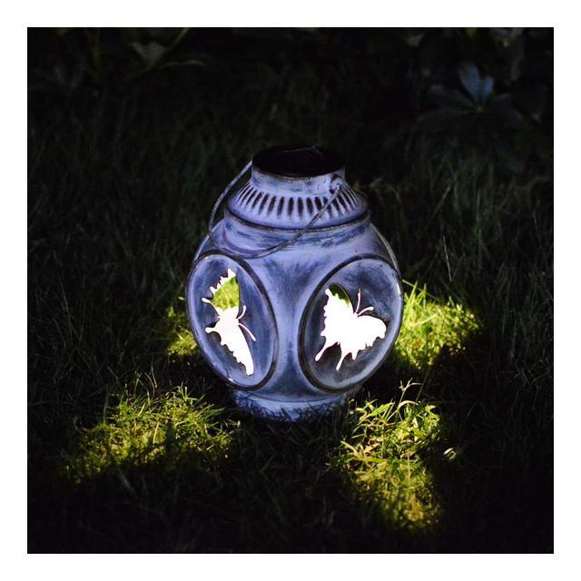 Outdoor Garden LED Solar Light Solar Landscape Light Impermeabile Lampada da marciapiede Luce Solare Ester per Prato