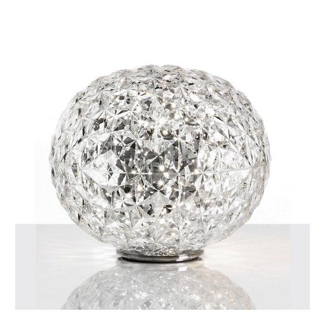 Planet Lampada da Tavolo 22W LED 31×28 cm Cristallo