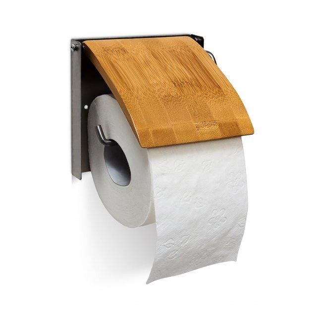 Porta Carta igienica da Parete in Bambu´