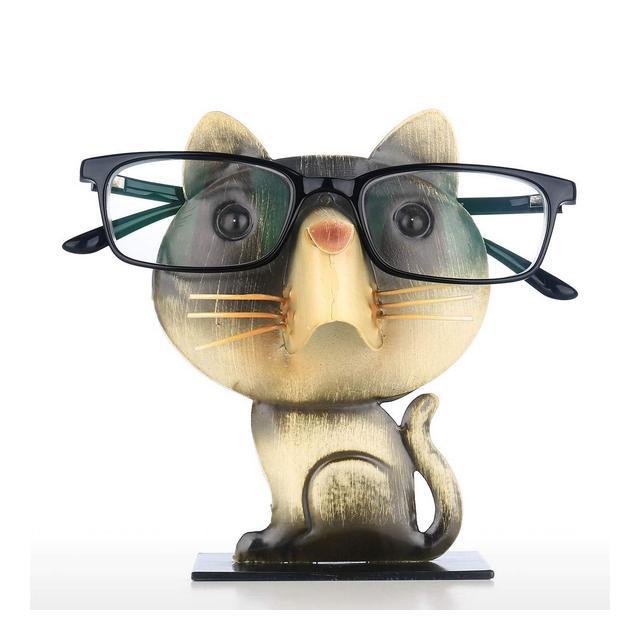 Porta Occhiali Ormento di Ferro Espositore per Occhiali A Forma di Animale