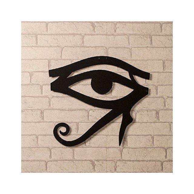 Quadro Decorazione Da Parete In Metallo Art And Graffiti Eye Nero Arte Casa Decoro Per Soggiorno Ufficio Muro