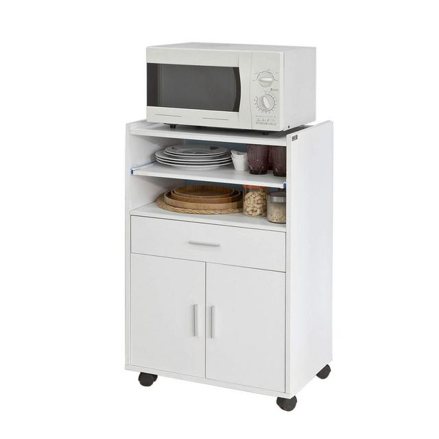 Scaffale per Forno a microonde Carrello da cucinacredenza con route FSB09WIT
