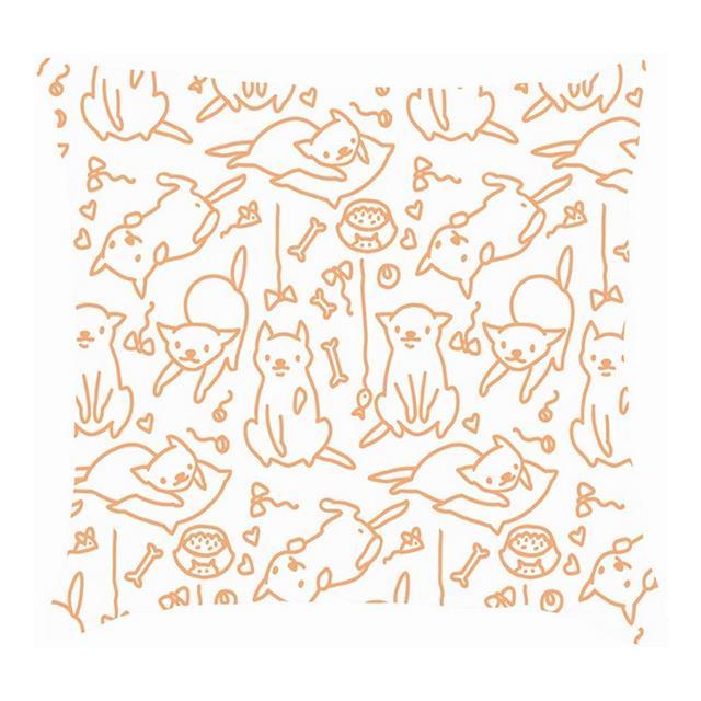 Schizzo Disegto a Mano Animali Divertenti Cartoni Animati Animali Selvatici Copricuscino copriletto Fodere per Cuscini in Lino di Cotone Federe