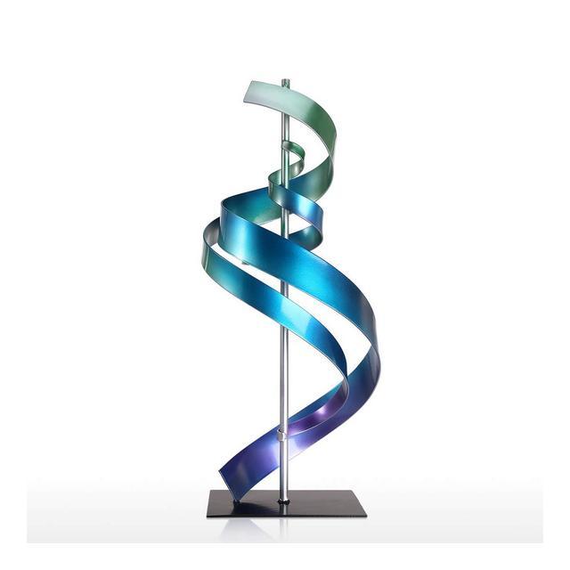 Scultura Metallo Scultura Moder Design Abstract Orment Iron Sculpture Art Home Decor Moder Scultura in Metallo Tavolo e Scrivania Office Decor Scultura Contemporanea