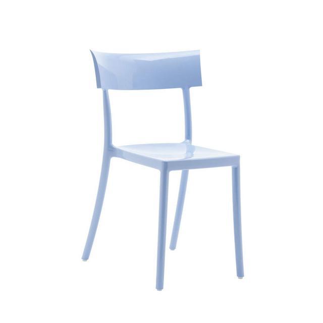 Sedia Catwalk Blu