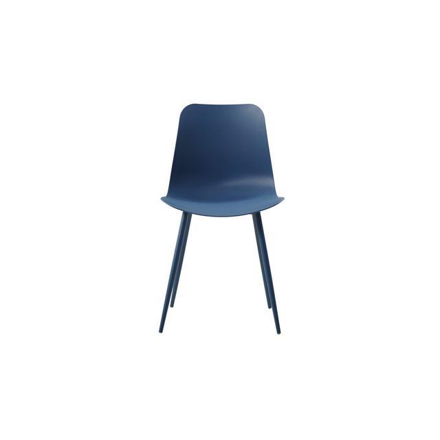 Sedia Polaris per Ufficio Soggiorno Sala da Pranzo cucina Camera da LettoTavolo Blu 45 x 80 x 47 cm Set da 2 Pezzi