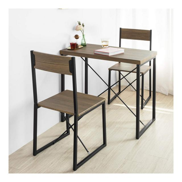 Set Tavolo da Pranzo con 2 sedie Tavolo e sedie cucina Stile Vintage
