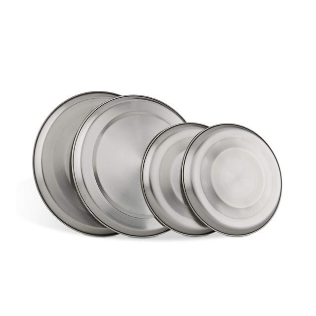 Set di 4 piastre di copertura per fornelli acciaio inossidabile cucina