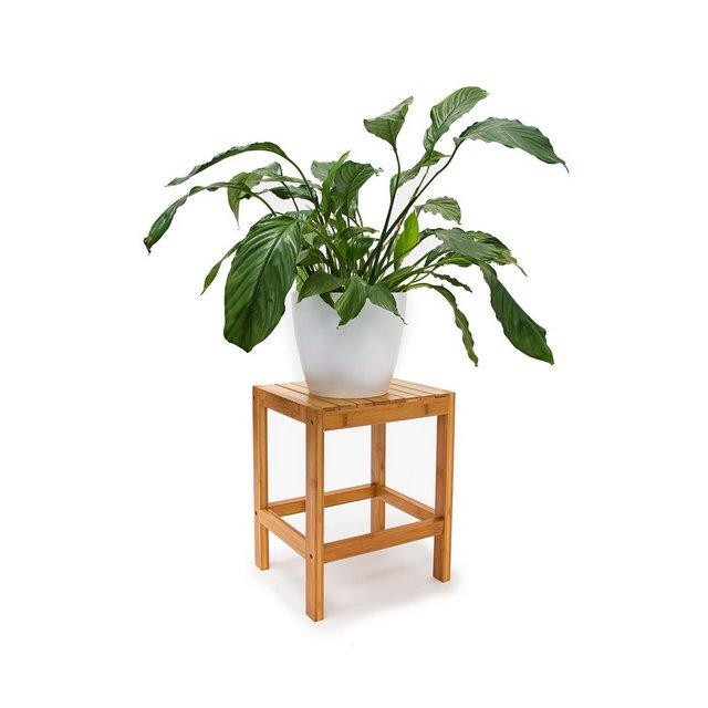 Sgabello 40 X 28 X 32 cm bambù Marrone