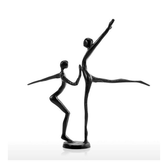 Statue Decorative Danza Moder Danza Moder Scultura in Metallo Scultura in Metallo Decorazione Domestica Collezione darte Regalo Perfetto