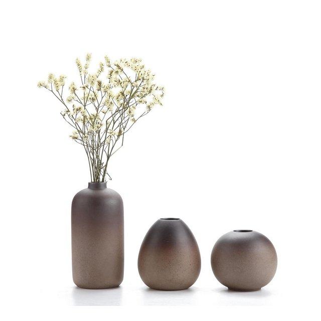 Stile Antico Set di Vaso in Ceramica Decorazioni per la Casa Cerimonia Nuziale Vaso da Piante Idroponiche Vasi di Fiori Pacchetto di 3