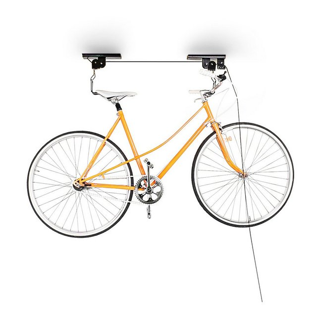 Supporto di Sollevamento per La Bicicletta Porta Bicicletta da Soffitto 20 Kg di Portata