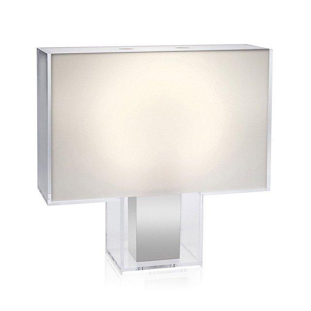 Tatì Lampada da Tavolo 2GX13 22 W Bianco L47 H46 P15cm