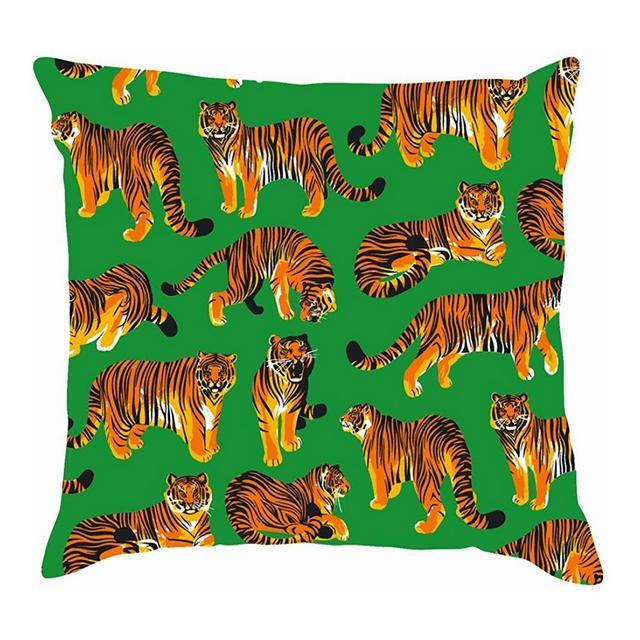 Tigri grafiche Diverse Pose Animali Africa The Arts Fodere per Cuscini in Cotone Fodere per Cuscini in Lino Federe