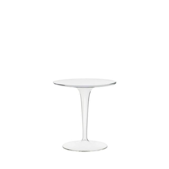 Tip Top Tavolino Trasparente 48 x 50 x 48 cm