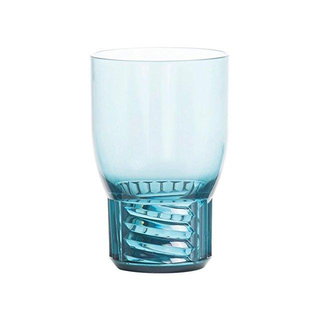 Trama Bicchiere Acqua Azzurro
