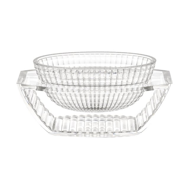 U Shine Vaso Decorativo Trasparente Cristallo