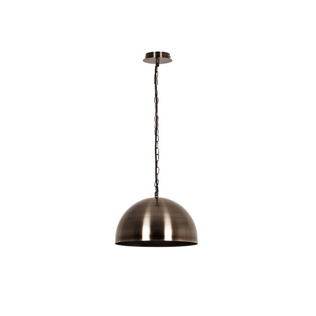 Vintage Lampada a Sospensione Metallo Argento Anticato 30 x 15 cm Cavo 110 cm 73 unità