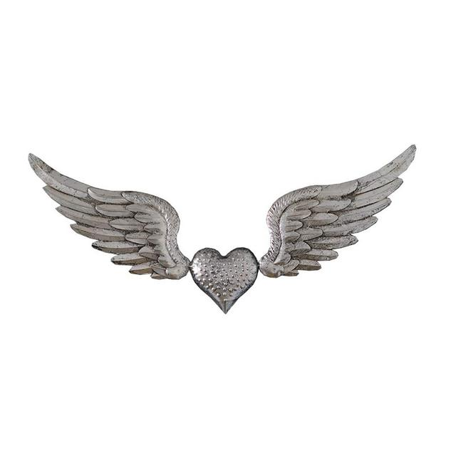 Wall Decoration Ferro Battuto Creativo Amore Angel Wings Bar Wall Hanging Decoration Ciondolo Decorativo Color B