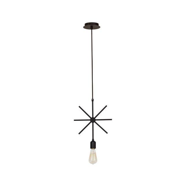 Wire Lampada a Sospensione Metallo Nero 29 x 39 cm 74 unità