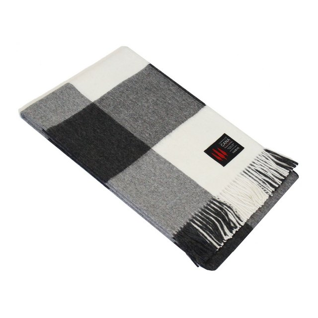 coperta in la tessuto a mano babyalpaka divano plaid coperta alpaca alpaca alpaca nero bianco 96077