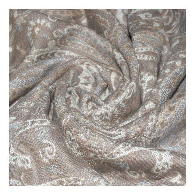 coperti di 90% cotone e 10% la–Copriletto Copriletto copridivano o Plaid con di la merino–confortevole in beige bianco ecru