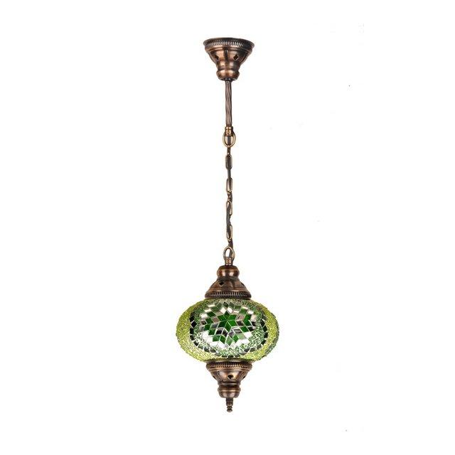mosaicoone00106 Lampada Verde 17 cm H50 cm Adjustable