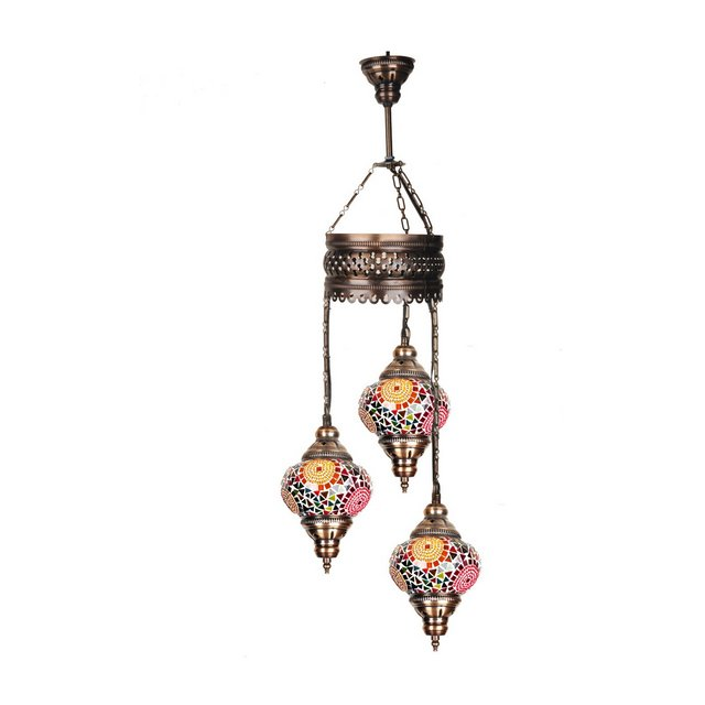 mosaicothree00111 Lampada Multicolore 13 cm H83 cm Adjustable