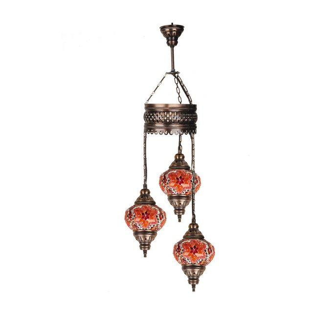 mosaicothree00113 Lampada Rosso 13 cm H83 cm Adjustable