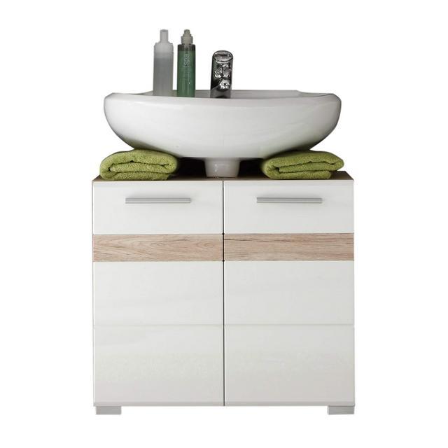 trendteam smart living Mobili Legno Bianco 60 x 56 x 34 cm