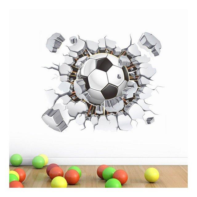 youjiu Football Ambiente Layout TV Sfondo Decorazione da Parete Adesivi Rimovibili da Parete