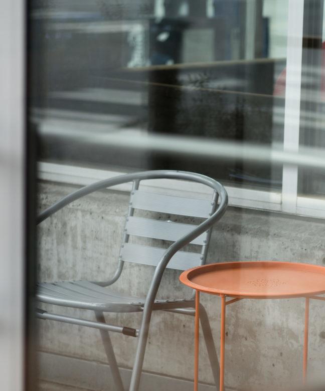 tavolo da giardino in metallo