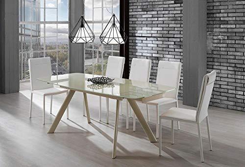 tavoli allungabili in vetro Roxy